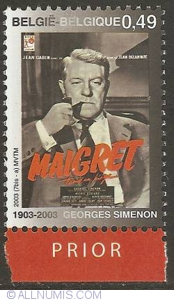 Image #1 of 0,49 Euro 2003 - Georges Simenon - Maigret tend un Piège
