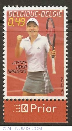 Image #1 of 0,49 Euro 2003 - Tennis - Justine Henin (with prior-tab)