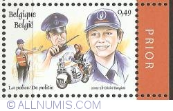 Image #1 of 0,49 Euro 2003 (with prior tab) - Police