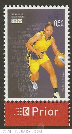 Image #1 of 0,50 Euro 2004 - Olympic Games Athens - Basketball