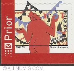 Image #1 of 0,50 Euro 2005 - 200th Anniversary of  H. C. Andersen - The Emperor's New Clothes