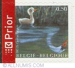 Image #1 of 0,50 Euro 2005 - 200th Anniversary of  H. C. Andersen - The Ugly Duckling