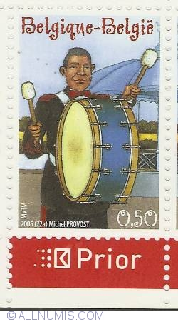 Image #1 of 0,50 Euro 2005 - Big Drum