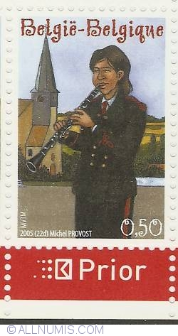 Image #1 of 0,50 Euro 2005 - Clarinet