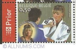 Image #1 of 0,50 Euro 2005 - Judo - Christel Deliège
