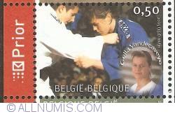 Image #1 of 0,50 Euro 2005 - Judo - Gella Vandecaveye
