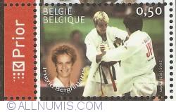 Image #1 of 0,50 Euro 2005 - Judo - Ingrid Berghmans