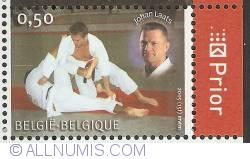 Image #1 of 0,50 Euro 2005 - Judo - Johan Laats