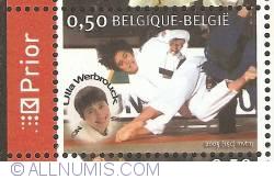 Image #1 of 0,50 Euro 2005 - Judo - Ulla Werbrouck