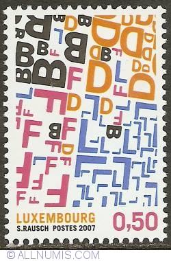 Image #1 of 0,50 Euro 2007 - Transborderism