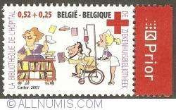 Image #1 of 0,52 + 0,25 Euro 2007 - Hospital Library