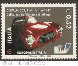Image #1 of 0,52 Euro 2003 - Pinin Farina 1947