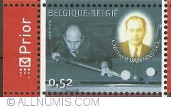 Image #1 of 0,52 Euro 2006 - Belgian Billiard Champions - Clément Van Hassel