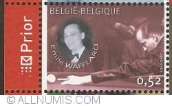 Image #1 of 0,52 Euro 2006 - Belgian Billiard Champions - Emile Wafflard