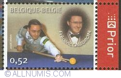 Image #1 of 0,52 Euro 2006 - Belgian Billiard Champions - Frédéric Caudron