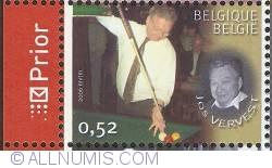 Image #1 of 0,52 Euro 2006 - Belgian Billiard Champions - Jos Vervest