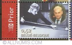 Image #1 of 0,52 Euro 2006 - Belgian Billiard Champions - Laurent Boulanger