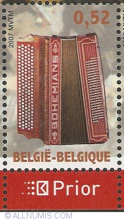 Image #1 of 0,52 Euro 2007 - Chromatic Accordion, Germany
