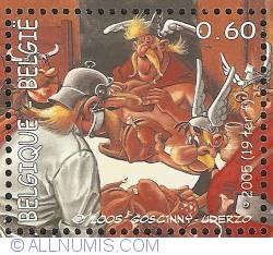 Image #1 of 0,60 Euro 2005 - Asterix in Belgium - Banquet