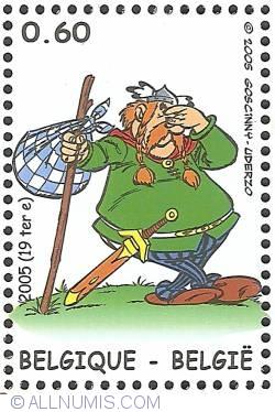 Image #1 of 0,60 Euro 2005 - Asterix in Belgium - Vitalstatistix (Abraracourcix)