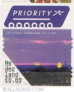 0,69 Euro 2006 - Olafur Eliasson - Double Sunset