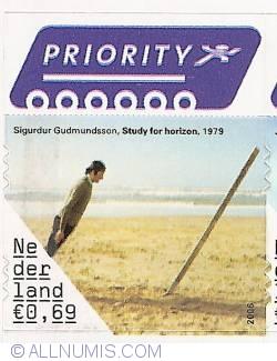 0,69 Euro 2006 - Sigurdur Gudmundsson - Study for Horizon