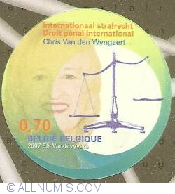 Image #1 of 0,70 Euro 2007 - International Criminal Law - Chris Van den Wijngaert