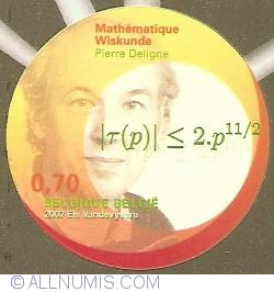 Image #1 of 0,70 Euro 2007 - Mathematics - Pierre Deligne