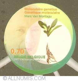 Image #1 of 0,70 Euro 2007 - Molecular Genetics - Marc Van Montagu