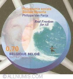 Image #1 of 0,70 Euro 2007 - Social Philosophy - Philippe Van Parijs