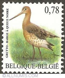Image #1 of 0,78 Euro 2006 - Black-tailed Godwit
