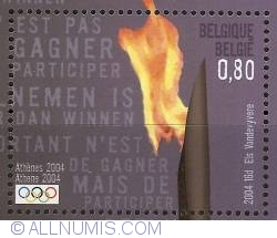 Image #1 of 0,80 Euro 2004 - Olympic Games Athens - Olympic Flame