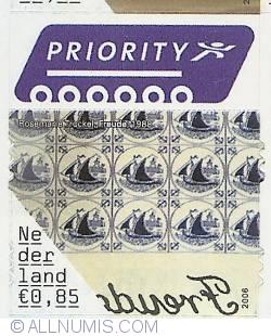 0,85 Euro 2006 - Rosemarie Trockel - Freude