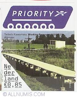 0,85 Euro 2006 - Tadashi Kawamata - Working Progress