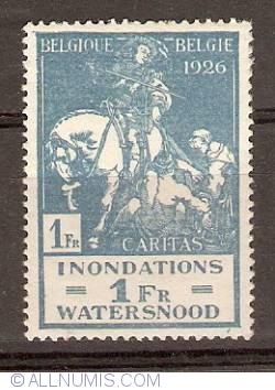 Image #1 of 1+1 Franc 1926 - Flood - Anthony Van Dijck - Saint Martin