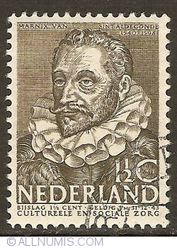 Imaginea #1 a 1 1/2 + 1 1/2 Cent 1938 - Philips van Marnix van Sint-Aldegonde