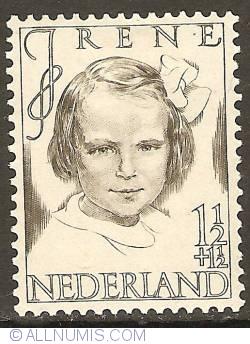 Imaginea #1 a 1 1/2 + 1 1/2 Cent 1946 - Princess Irene