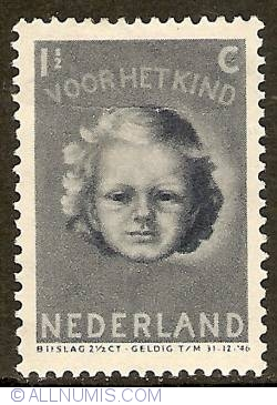 Image #1 of 1 1/2 + 2 1/2 Cent 1945 - Child's Head