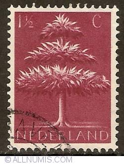 Image #1 of 1 1/2 Cent  1943 - German Symbols - Three Crowns Tree