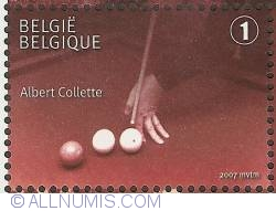 1° 2007 - Belgian Billiard Champions - Albert Collette