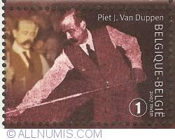 1° 2007 - Belgian Billiard Champions - Piet J. Van Duppen