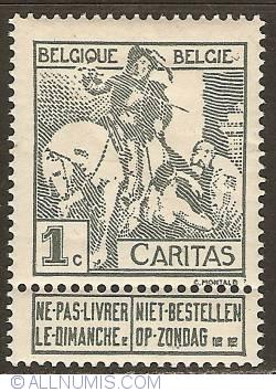 Image #1 of 1 Centime 1910 - Anthony Van Dijck - Saint Martin