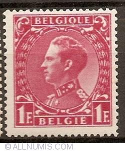 Image #1 of 1 Franc 1935 - Leopold III