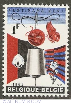 Imaginea #1 a 1 Franc 1965 - Textirama Ghent