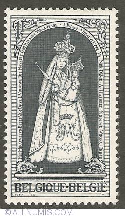 Image #1 of 1 Franc 1967 - Christmas - Virga Jesse (Hasselt)