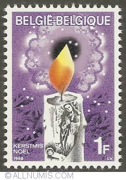 Image #1 of 1 Franc 1968 - Christmas