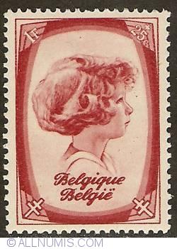 Image #1 of 1 Franc + 25 Centimes 1938 - Prince Albert
