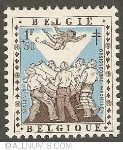 Image #1 of 1 Franc + 50 Centimes 1957 - Opsinjoorke