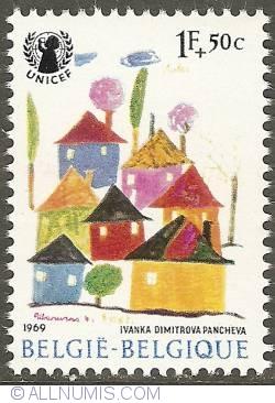 Image #1 of 1 Franc + 50 Centimes 1969 - UNICEF
