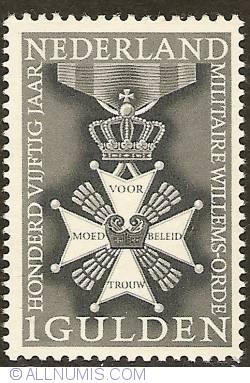 Image #1 of 1 Gulden 1965 - 150 Years of Military Willemsorde